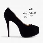 รองเท้าส้นสูงไซส์ใหญ่ Midnight Ella Platform ไซส์ 40-46 รุ่น KR0592