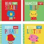 Playdate Pals : 4 Books Collection : Learn to Say Please, to Listen, to Help, to share หนังสือสอนเด็กวัยหัดเดินเกี่ยวกับลักษณะนิสัย