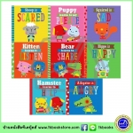 Playdate Pals : 8 Books Collection : Feeling Sad, Happy, Scared, Angry & Learn to Say Please, to Listen, to Help, to share หนังสือสอนเด็กวัยหัดเดินเกี่ยวกับลักษณะนิสัย