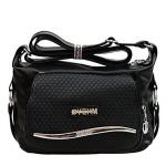 กระเป๋าสะพายข้าง YHEM สีดำ รุ่น BB0155
