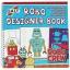 GALT : Robo Designer Book : Robo Crew หนังสือกิจกรรม สร้างหุ่นยนต์ แพคพร้อมอุปกรณ์ตกแต่ง thumbnail 1