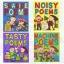 Oxford : Tasty Noisy Seaside Machine Poems : 4 Books Set เซตหนังสือส่งเสริมการอ่านคำคล้องจอง Nick Sharratt thumbnail 6