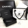 Chanel VIP Beaute Clear Transparent Cosmetic Bag & Chanel Cosmetic Hard Case Square With Zip พรีเมี่ยมกิ้ฟ Limited Edition