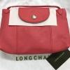 New Longchamp หนังแกะ มินิ สีชมพูโอรส ป้ายแท็กรุ่นใหม่ล่าสุดนะคะ
