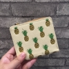 Charles & Keith Beige Boxy Pineapple Wallet Collection 2017