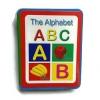 หนังสือโฟม ABC เคลือบกระดาษ สอน A-Z สำหรับเด็กเล็ก