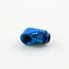 ข้องอ 90 male - Female สีฟ้า