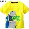 (BS01) เสื้อยืดแขนสั้น ไซส์ 2T (ผ้าดีมาก หนา นิ่ม สำหรับเด็ก 2-3ขวบ)
