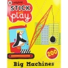 Ladybird - Big Machines Stick and Play หนังสือกิจกรรม สติกเกอร์ เกม ธีมเครื่องจักร