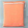 ถุงผ้ากันน้ำ 1 ช่อง Size: L (หูยางยืด) i4 -สีพื้น ส้มอ่อน