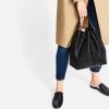 กระเป๋าหนัง ทรงขนมจีบ รุ่นใหม่ ยี่ห้อ ZARA