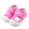 รองเท้าคัชชูเด็กเล็กหญิง สีชมพูลายกระต่าย (เท้ายาว 10-13 ซม.)