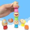 ของเล่นไม้ เกมส์วางไข่หอคอย Stack Eggs Game