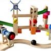 เกมส์สร้างโรลเลอร์โคสเตอร์สไลด์เดอร์บอล Roller Coaster Building Blocks Set