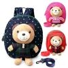 กระเป๋าเป้จูงเด็กรูปตุ๊กตาหมี ป้องกันเด็กพลัดหลงหาย