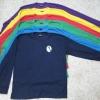 เสื้อใช้แจกโฆษณา (คอกลม-คอปก) แขนยาว สีล้วน