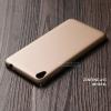 เคส Zenfone Live (ZB501KL) เคสแข็งสีเรียบ คลุมขอบ 4 ด้าน สีทอง
