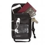 กระเป๋าใส่พาสปอร์ตแบบห้อยคอ ป้องกันการขโมยข้อมูลบัตรเครดิตด้วยคลื่น RFID (รับประกัน 60 วัน) มี 3 สีให้เลือก