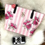Victoria's Secret Vintage Flower Print Shoulder Bag