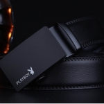 PLAYBOY MEN LEATHER BELT (Free Size) แบบที่ 1