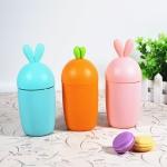ขวดแก้วแครอทกระต่ายย หุ้มปลอกซิลิโคน