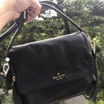 Kate Spade Miri Chester Street Leather Satchel - Black #Katespadeแท้