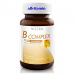 Vistra B Complex Plus Minerals 30 เม็ด