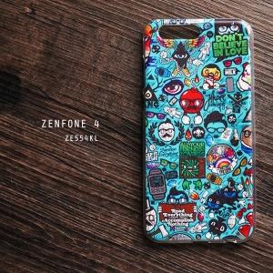 เคส Zenfone 4 (ZE554KL) เคส TPU พิมพ์ลาย แบบที่ 2