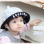 HT460••หมวกเด็ก•• / หมวกปีกกว้าง-bubbles (สีเทา) thumbnail 1