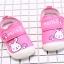 รองเท้าคัชชูเด็กเล็กหญิง สีชมพูลายกระต่าย (เท้ายาว 10-13 ซม.) thumbnail 3