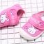 รองเท้าคัชชูเด็กเล็กหญิง สีชมพูลายกระต่าย (เท้ายาว 10-13 ซม.) thumbnail 4