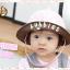 HT461••หมวกเด็ก•• / หมวกปีกกว้าง-bubbles (สีชมพูอ่อน) thumbnail 1
