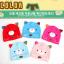 HT423••หมวกเด็ก•• / หมวกบีนนี่-หมียิ้ม (สีฟ้าอ่อน) thumbnail 5