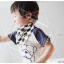 ผ้าซับน้ำลายสามเหลี่ยม ผ้ากันเปื้อนเด็ก [ผืนเล็ก] / Kitten thumbnail 2