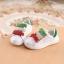รองเท้าคัชชูเด็กสีขาว เทปสีแดงเขียว Size 27-30 thumbnail 6