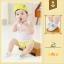 SK018••ถุงเท้าเด็ก•• ลูกแพร์ (สีเขียว-ข้อสั้น) thumbnail 1