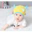 HT400••หมวกเด็ก•• / หมวกบีนนี่-เลขคู่ (สีเหลือง) thumbnail 3