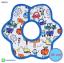 ผ้าซับน้ำลายเด็ก ผ้ากันเปื้อนเด็กเล็ก แบบ 360 องศา ปลายหยักโค้ง - ยี่ห้อ Mom's care / ลาย Transport thumbnail 1