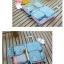 ชุดจัดกระเป๋าเดินทาง 6 ใบ จัดระเบียบเสื้อผ้าในบ้าน กันน้ำ ใส่เสื้อผ้า ชุดชั้นใน เครื่องสำอาง มี 5 สีให้เลือก thumbnail 15