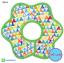 ผ้าซับน้ำลายเด็ก ผ้ากันเปื้อนเด็กเล็ก แบบ 360 องศา ปลายหยักโค้ง - ยี่ห้อ Mom's care / ลาย Multicolored Triangle thumbnail 1