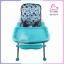 เก้าอี้ทานข้าวทรงสูง มีผ้ารองนั่ง 3 in 1 สีฟ้า thumbnail 7