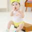 SK018••ถุงเท้าเด็ก•• ลูกแพร์ (สีเขียว-ข้อสั้น) thumbnail 2