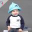 หมวกเด็กปีกกว้าง หมวกเด็กปีกรอบ หมวกซันเดย์ ลาย Hello (มี 5 สี) thumbnail 10