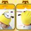 HT443••หมวกเด็ก•• / หมวกบีนนี่-ผีเสื้อ (สีเหลือง) thumbnail 2