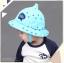 หมวกเด็กปีกกว้าง หมวกเด็กปีกรอบ หมวกซันเดย์ ลาย Hello (มี 5 สี) thumbnail 9