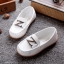 รองเท้าคัทชูเด็กหนัง PU สีขาว ประดับโลหะตัวอักษร Z มี Size 21-36 thumbnail 1
