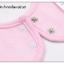 ผ้าซับน้ำลายเด็ก ผ้ากันเปื้อนเด็กเล็ก แบบ 360 องศา ปลายหยักโค้ง - ยี่ห้อ Mom's care / ลาย Blue Puppy thumbnail 5