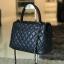 "Premium Caviar 10.5"" Genuine Sheep Leather Handbag 2017 thumbnail 2"
