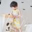 ผ้าซับน้ำลายสามเหลี่ยม ผ้ากันเปื้อนเด็ก [ผืนเล็ก] / Lemon thumbnail 2