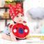 AP152••เซตหมวก+ผ้ากันเปื้อน•• / [สีแดง] น้องหมี thumbnail 1
